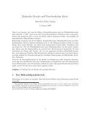Eulersche Gerade und Feuerbachscher Kreis - LSGM