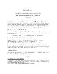 Zahlentheorie - LSGM