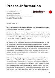 10.06.2013 - Der Landesseniorenrat Baden-Württemberg eV