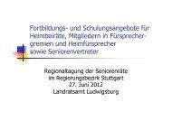 Vortrag Frank Kruse Fortbildungs- und Schulungsangebote