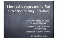 Stochastic approach to flat and non-flat systems in inflationary ...