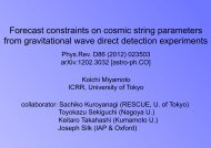Forecast constraints on cosmic string parameters from gravitational ...