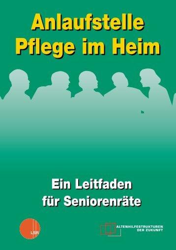 Ein Leitfaden für Seniorenräte Ein Leitfaden für Seniorenräte - Der ...
