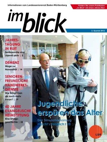 Ausgabe 02-2012 - Der Landesseniorenrat Baden-Württemberg eV