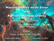 Massive Gravity on de Sitter and Partially Massless Gravity
