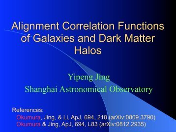 Alignment Correlation Functions of Galaxies and Dark Matter Halos