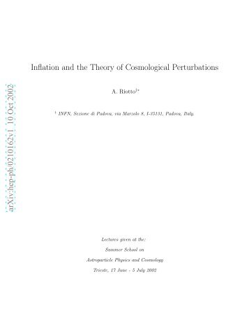 Inflation and the Theory of Cosmological Perturbations.pdf