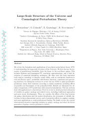 Large-Scale Structure of the Universe and Cosmological ...
