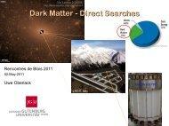 Dark Matter - Direct Searches - rencontres de blois