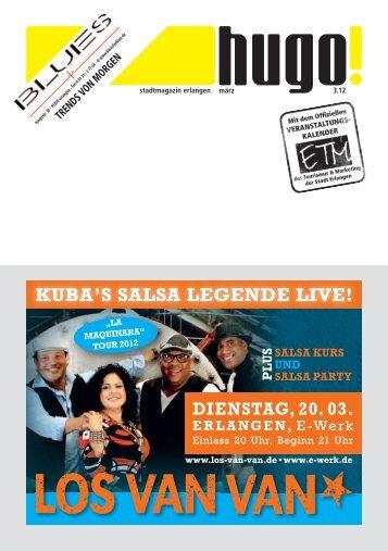 KUBA'S SALSA LEGENDE LIVE!
