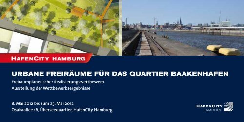 Urbane freiräUme für das QUartier baakenhafen - luchterhandt