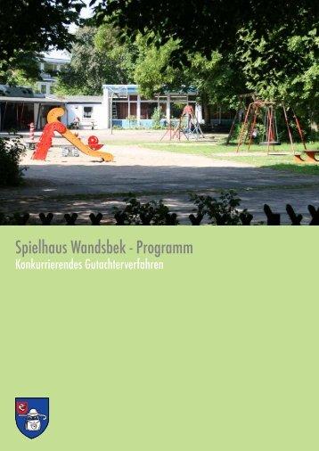 Spielhaus Wandsbek - Programm - luchterhandt