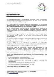Der LTV informiert 03 - i-Marke Teil 1 - Tourismusverband Sachsen ...