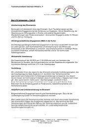Der LTV informiert 15 - Tourismusverband Sachsen-Anhalt