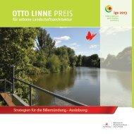 Otto-Linne-Preis 2011 - Auslobung - luchterhandt