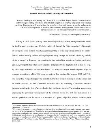 theoretical analysis of modernity In walter benjamin and the media jaeho kang strikes a near perfect balance between biographical narrative and theoretical analysis in doing so, benjamin s media.