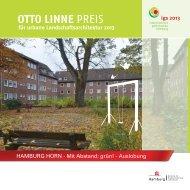 Otto Linne Preis 2013 - Auslobung - luchterhandt