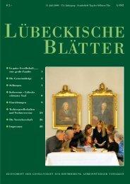 Sonderheft_LB174.pdf - luebeckische-blaetter.info