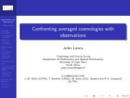 Confronting averaged cosmologies with observations - LUTh