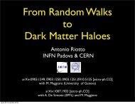 Antonio Riotto INFN Padova & CERN - LUTH
