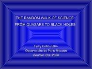 The random walk of science - LUTh - Observatoire de Paris