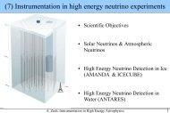 Neutrinos - LUTh