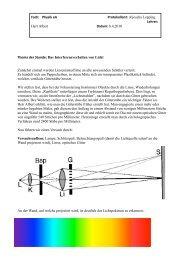 Protokoll Physik 8.4.2010 - macbay.de