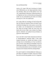 Das Land Rheinland-Pfalz - Vertretung des Landes Rheinland-Pfalz