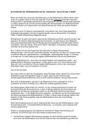 Verhaltensregeln bei Waffenkontrollen - KKS Reihen