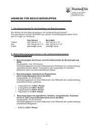 Merkblatt - Vertretung des Landes Rheinland-Pfalz