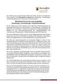 Mitarbeiter/innen für das neue dreiköpfige Verwaltungs ...