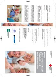 Der Flyer - ReCognize Saar