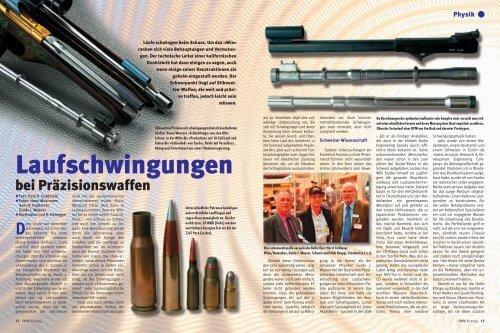 Laufschwingungen bei Präzisionswaffen - Teil 1 - Silhouetten.org