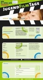 Jugend Film Tage - Landesvereinigung für Gesundheitsförderung in ...