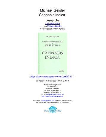 Michael Geisler Cannabis Indica