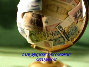 region economic situation