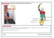 Muscles sollicités : Muscles de la cuisse (Quadriceps, Psoas iliaque…)