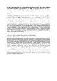 Epidémiologie des maladies vectorielles à tiques