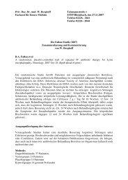 Priv. Doz. Dr. med. W. Berghoff Telemannstraße 1 Facharzt für ...