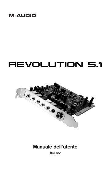 Manuale dell'utente - M-Audio