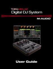 Torq MixLab User Guide - M-Audio