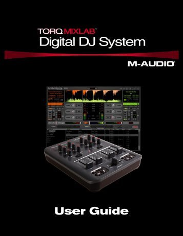 Torq MixLab User Guide - M-Audio
