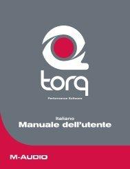 Manuale dell'utente di Torq - M-Audio