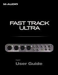 Fast Track Ultra User Guide - zZounds.com