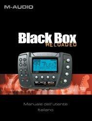 Black Box Reloaded • Manuale dell'utente - M-Audio