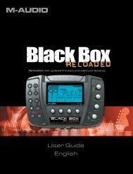 Black Box Reloaded User Guide - M-Audio