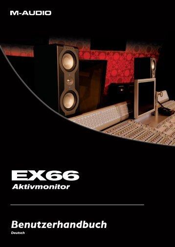 EX66 Benutzerhandbuch • Deutsch - M-AUDIO