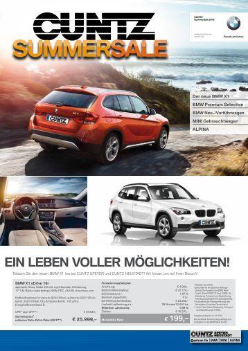 Edition MINI CUBE SPEYER - Autohaus Cuntz