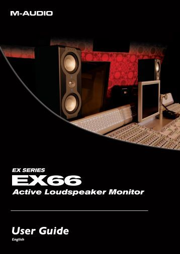 EX66 User Guide • English - M-Audio
