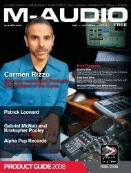 Carmen Rizzo - M-Audio